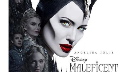 Maleficent and Aurora PNG