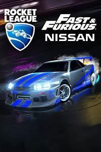 Rocket, League, Fast, U0026, Furious, U0026, 39, 99, Nissan, Skyline, Gt