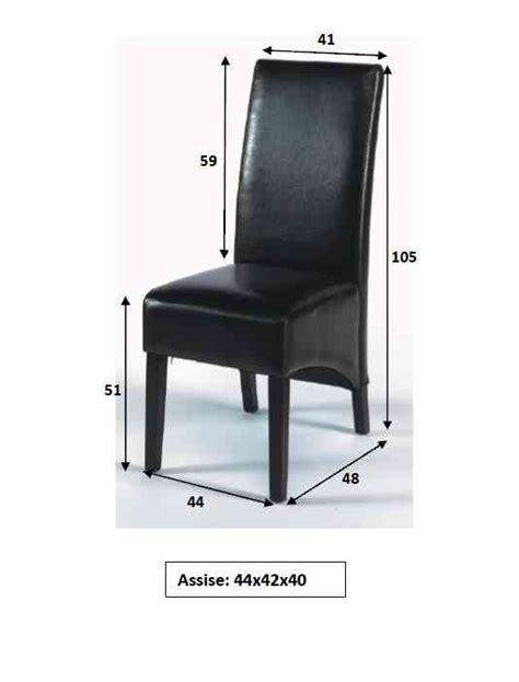 housse de chaise en simili cuir chaises de salle 224 manger diane lot de 2 chaise en cuir et pu chaise de salle 224 manger