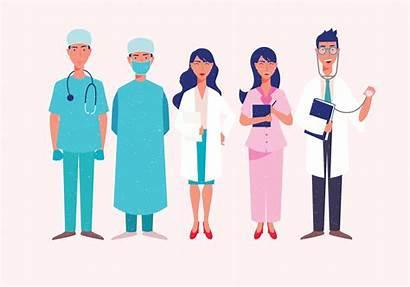 Healthcare Doctor Vector Characters Clipart Graphics Vectors