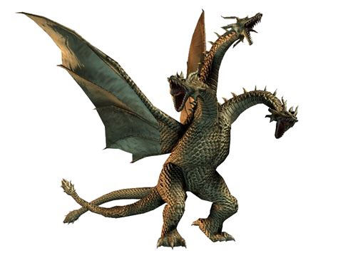 Godzilla rises from the sea. King Ghidorah 2007 | Wikizilla Role Play Wiki | FANDOM ...