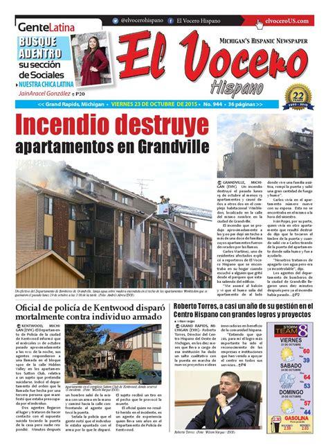 El Vocero Hispano 23 de Octubre de 2015 by El Vocero