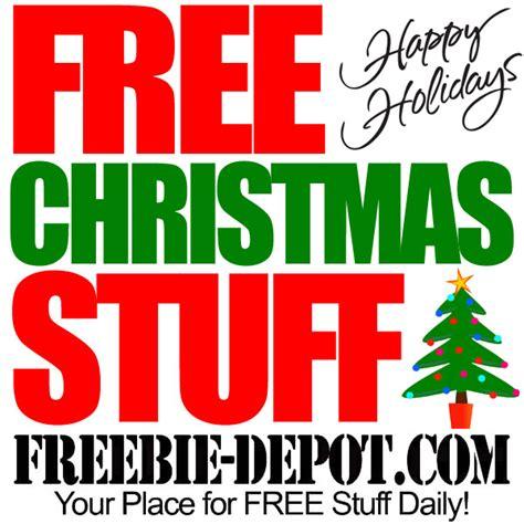 Free Christmas Stuff 2015  Holiday Freebies  Freebie Depot