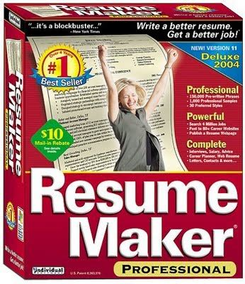 resume maker professional software version free antivirus