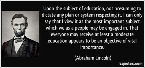 abraham lincoln quotes  education quotesgram