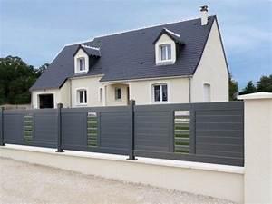 Cloture Maison Moderne : cloture maison google search ker t s pinterest ~ Melissatoandfro.com Idées de Décoration