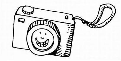 Camera Coloring Smiling