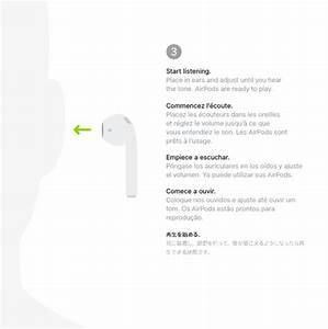 Apple Airpods Quick Start Guide User Manual Air Pods