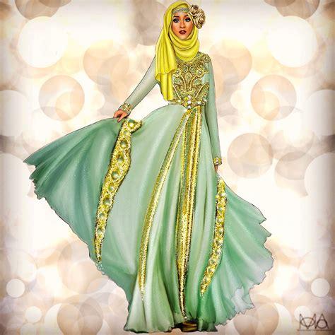 commissioned illustration  atblossomandbean hijabi