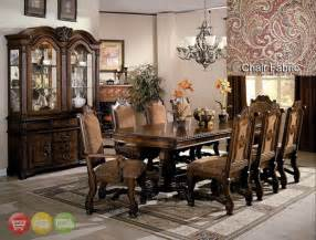 Dining Room Sets With China Cabinets neo renaissance formal dining room furniture set with