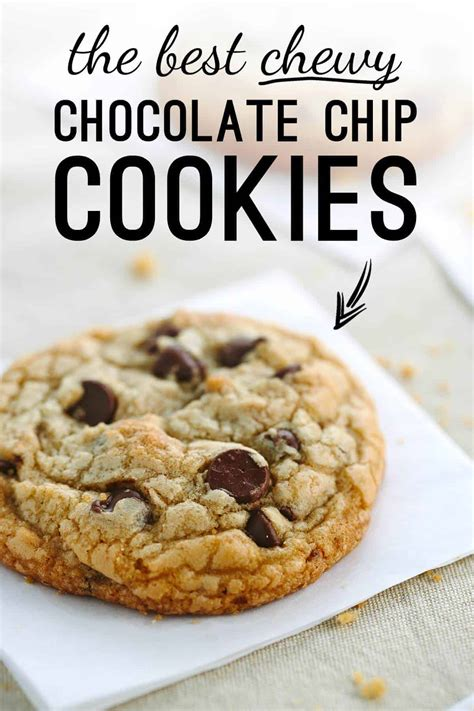 Best Chocolate Chip Recipes The Best Chewy Chocolate Chip Cookies Recipe Gavin