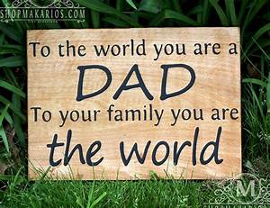 Fathers Day Gift Fathers Day Sign Best Fathers Gift