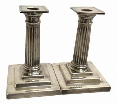 Candle Silver Holders Sterling Gorham Chairish Pair