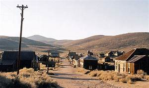 Bodie Ghost Town And State Historical Park  California