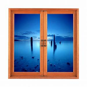 frozen sea pag 3d artificial window view 3d wall decals With window wall decal