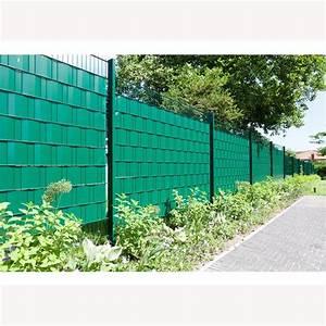 Zaun Sichtschutz Grün : pvc sichtschutz gr n ral 6005 35 m rolle 65 00 ~ Watch28wear.com Haus und Dekorationen