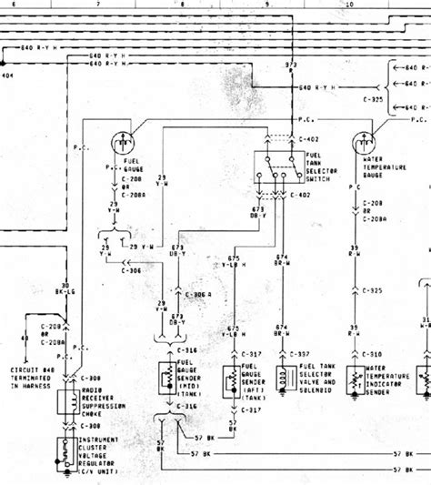 Rewiring Fuel Gauge Ford Truck Enthusiasts Forums