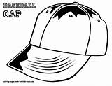 Coloring Pages Baseball Hat Boys Cap Printable Mlb Colouring Letter Hats Colour Caps Bubble Clothing Players Sports Getcoloringpages Bats Softball sketch template