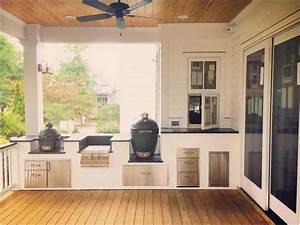 Outdoor Küche Bauen : outdoor k che erg nzt mit zwei gr nen eiern lapazca ~ Markanthonyermac.com Haus und Dekorationen