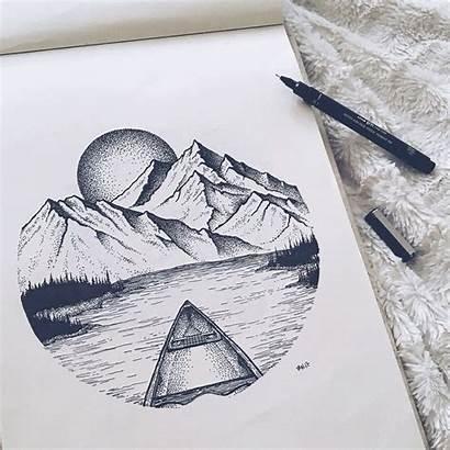 Imgur Drawings Circle Pen Drawing Ink Dibujo