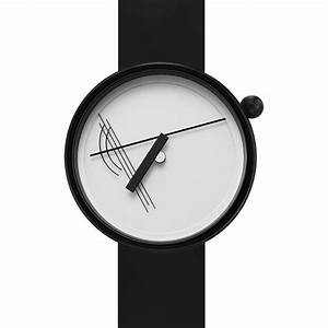 Projects Watches Diagram 17 White Watch Black Silicone 7217w-bs
