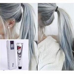 DANESI GOON COLOR HAIR CREAM LIGHT GRAY COLOR Permanent ...