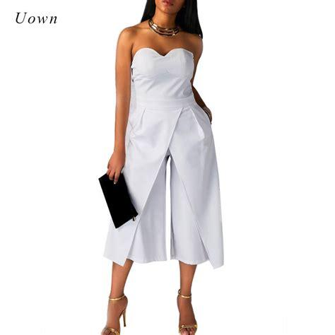 s dress jumpsuits wide leg jumpsuit rompers the shoulder split