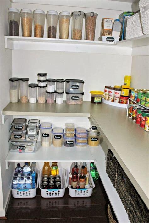 unique storage solutions  pantry  small plastic