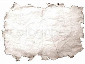 Old stained paper with torn dirty edges | Stock Photo ...