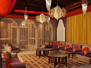 7, Middle, Eastern, Style, Interior, Design, Ideas, With