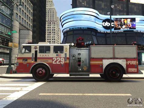 Fire Truck Fdny For Gta 4