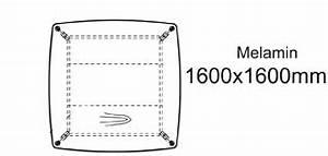 Besprechungstisch SIRIO 1600x1600 Mm Oval