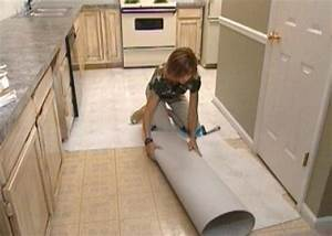 How to install self stick floor tiles how tos diy for How to install linoleum floor in bathroom