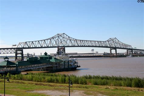 River Boat Casinos In Baton Rouge La by Interstate Highway 10 Bridge Over Mississippi River