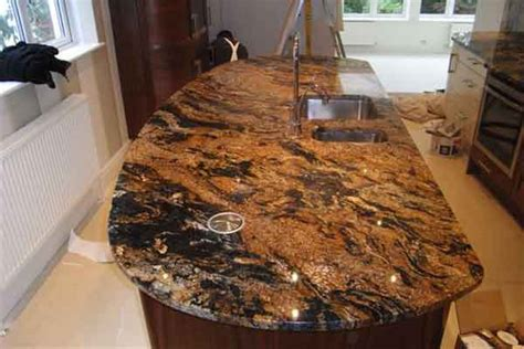 gold yellow granite completed