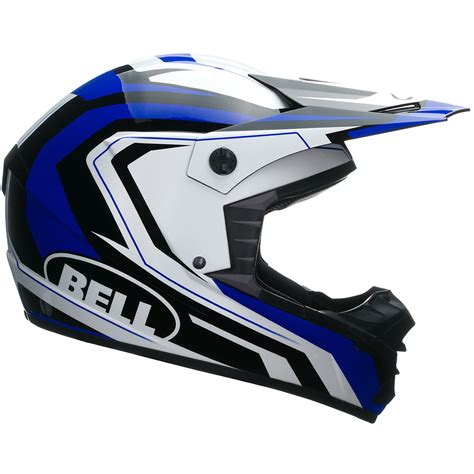 blue motocross helmet bell sx 1 storm blue motocross helmet quad cross mx motox