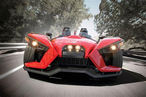 Polaris New Three-wheel Slingshot Is Actually A Belt