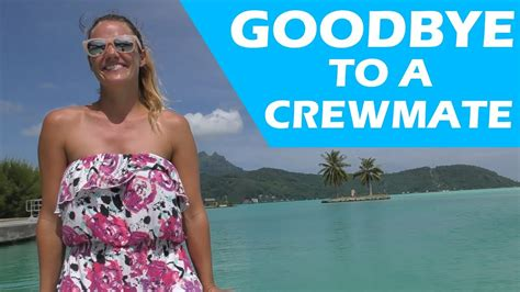 A CREWMATE LEAVES THE BOAT S E YouTube