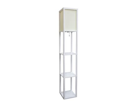 Etagere Floor L by Floor L Etagere Organizer Storage Shelf With Linen Shade