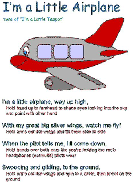 transportation songs and poems 402   s airplane poster