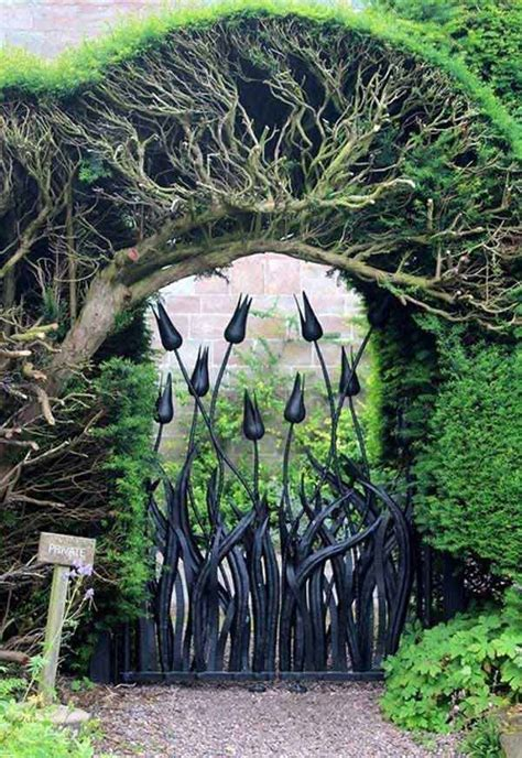 beautiful garden gate ideas  reflect style