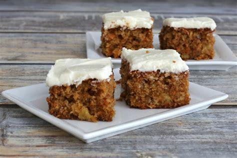 carrot applesauce cake recipe