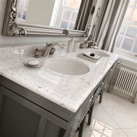 Bathroom Marble Vanity Tops by Carstin Brands Tyvarian Vanity Top Cultured Marble