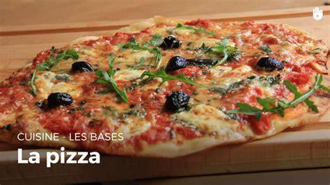 cuisiner une pizza la pizza de a à z recette facile
