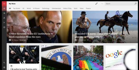 Microsoft Updates Windows 10 Msn News App With More