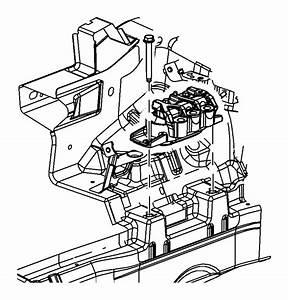 Chrysler Sebring Engine Mount Isolator  3 5 Liter