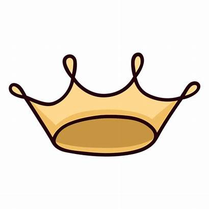 Crown Queen Icon Colorful Stroke Transparent Svg