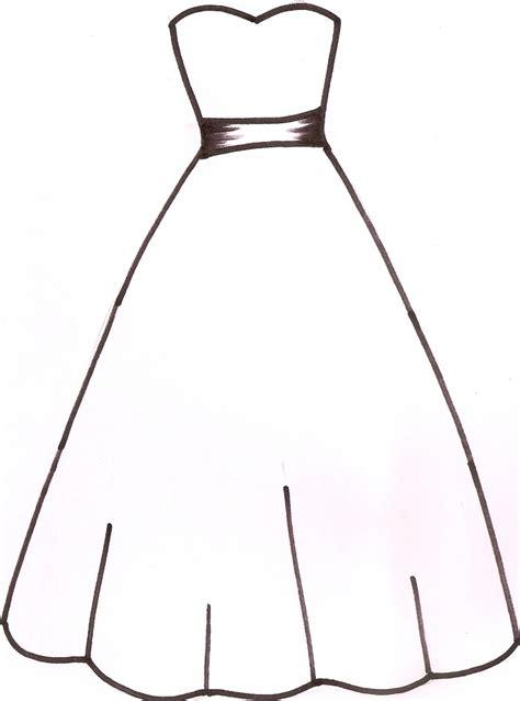 dress template wedding dress outline clipart panda free clipart images