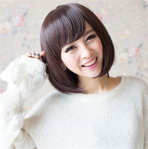 foto model rambut bob cantik ala artis korea gaya rambut