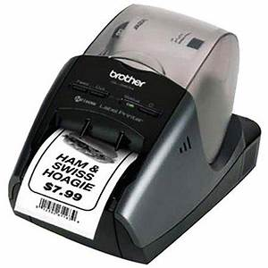 brother international ql 580n pc label printer network With label printer walmart